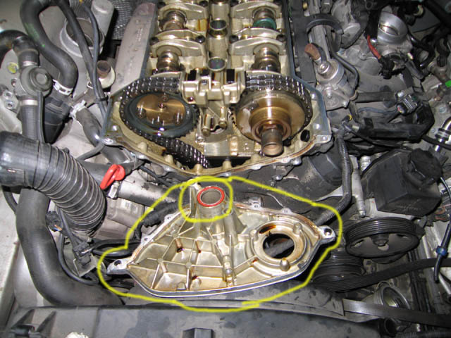 SLK head remove on timing chain replacement cost
